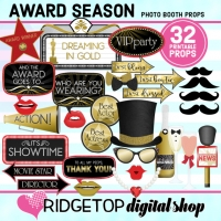 Ridgetop Digital Shop | Award Season Photo Booth Props