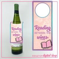 Book Club Wine Tag Free Printable