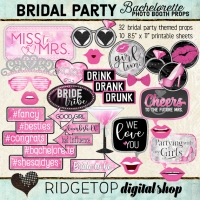 Ridgetop Digital Shop | Bachelorette Party | Bridal Shower Photo Booth | Hen Party