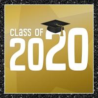 Class of 2020 - black gold