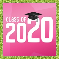 Class of 2020 - lime pink