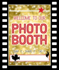 Movie Photo Booth Sign Printable