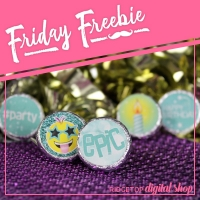 Birthday Candy Stickers