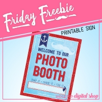Photo Booth Sign Free Printable
