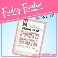 Photo Booth Sign Printable