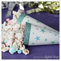 Star Cone Wrapper Printable