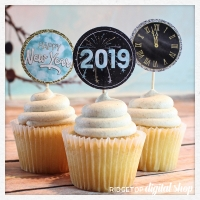 2019 Cupcake Toppers