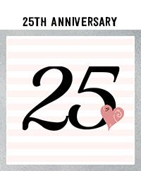Ridgetop Digital Shop | 25th Wedding Anniversary Photo Booth Props | Rose Gold