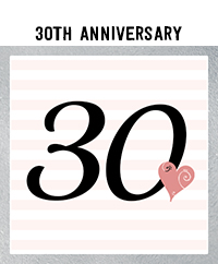 Ridgetop Digital Shop | 30th Wedding Anniversary Photo Booth Props | Rose Gold