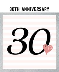 Ridgetop Digital Shop | 30th Wedding Anniversary Photo Booth Props | Rose Gold
