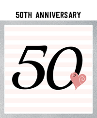 Ridgetop Digital Shop | 50th Wedding Anniversary Photo Booth Props | Rose Gold