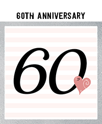 Ridgetop Digital Shop | 60th Wedding Anniversary Photo Booth Props | Rose Gold