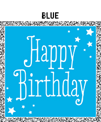 Birthday - Blue