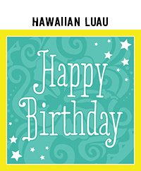 Ridgetop Digital Shop |  Birthday Luau Photo Booth Props