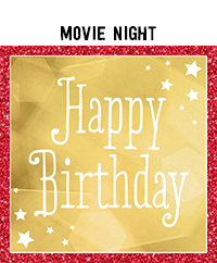 Ridgetop Digital Shop | Birthday Movie Night Photo Booth Props
