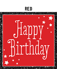 Birthday - Red