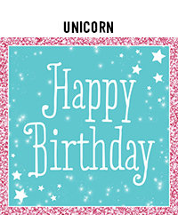 Ridgetop Digital Shop | Birthday Unicorn Photo Booth Props
