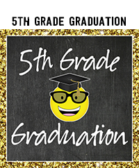 Ridgetop Digital Shop | 5th Grade Graduation Printables | 5th Grade Promotion Printables