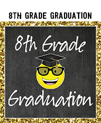Ridgetop Digital Shop | 8th Grade Graduation Printables | 8th Grade Promotion Printables