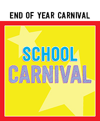 Ridgetop Digital Shop | School Carnival Printables | End of Year School Printables